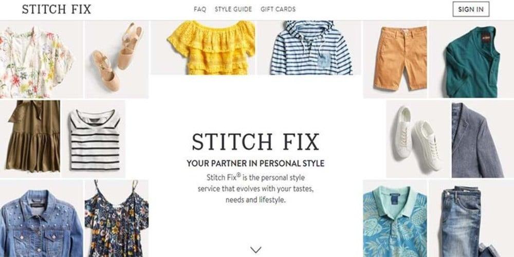服装行业订阅电商鼻祖Stitch Fix的产品定位和运营模式解析