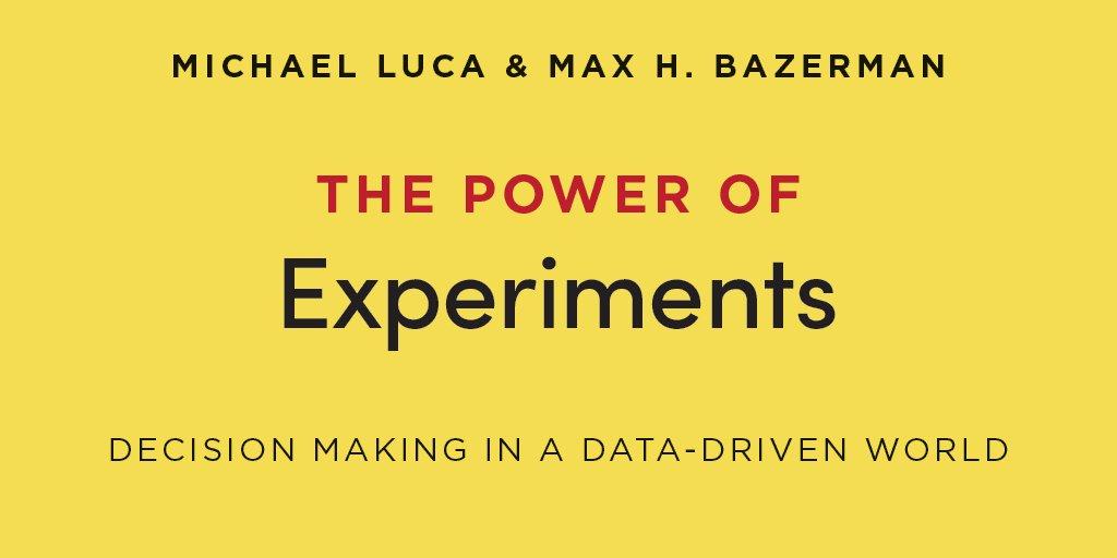 创新书荐 | 实验的力量 - 团队如何以实验思维做出业务方案创新