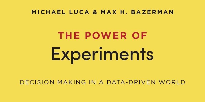 创新书荐 | 通过实验试错,高效进行业务决策