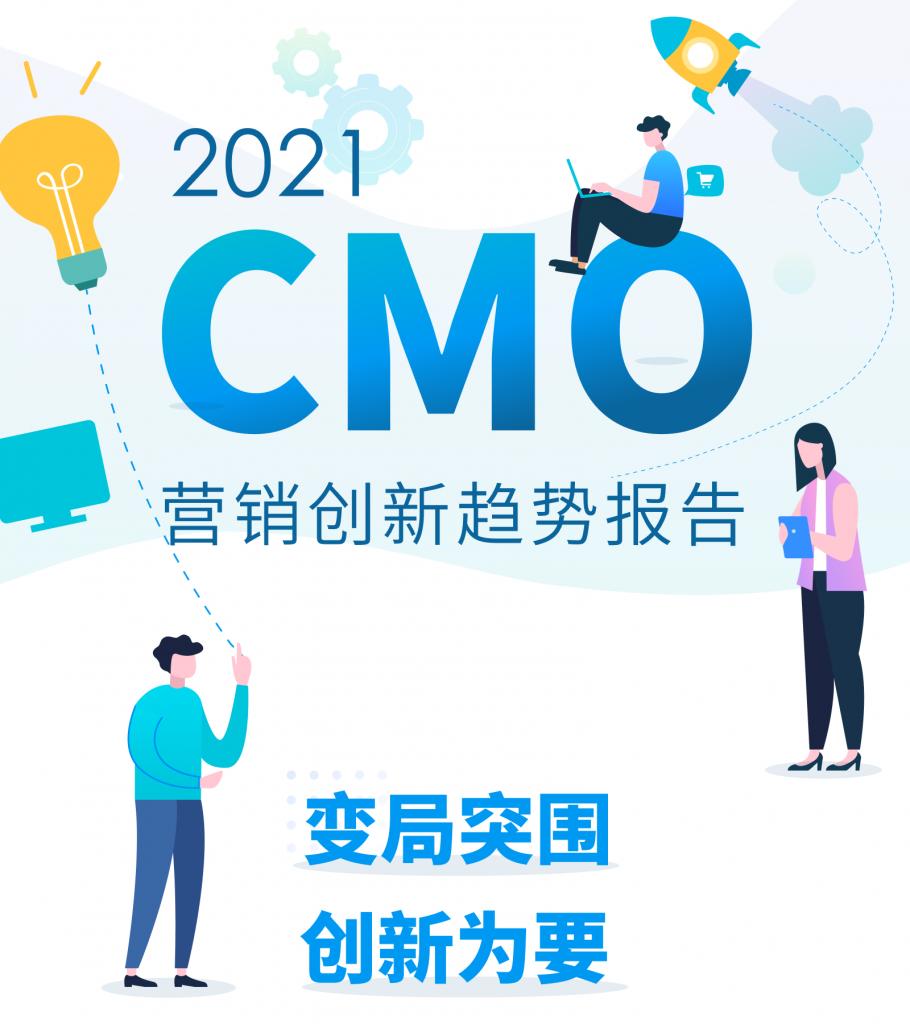 2021 中国CMO营销创新趋势报告banner-mob