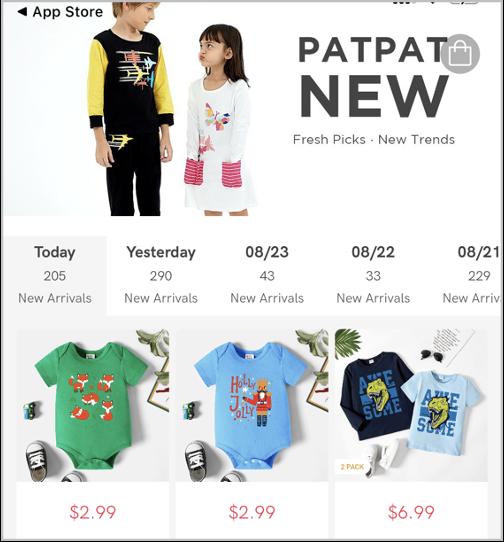 PatPat业务增长策略